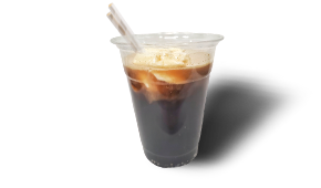 Ice Cream Float made with Ice Cream from Local Creamery